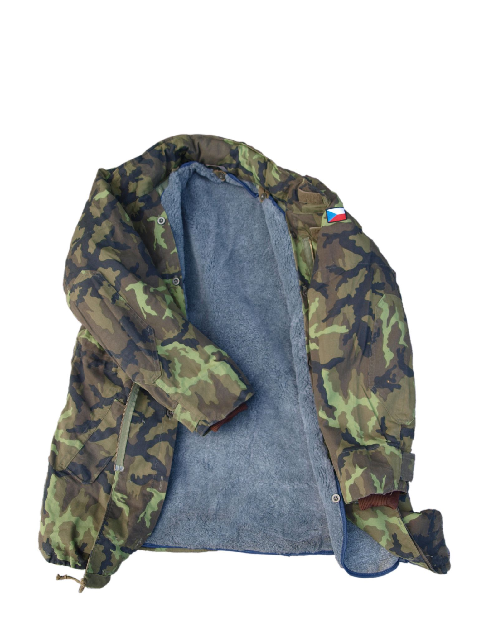 outlet store b46d5 b4eba Czechoslovakian Camo M65 Parka with hood and fleece liner (Pack of 3)