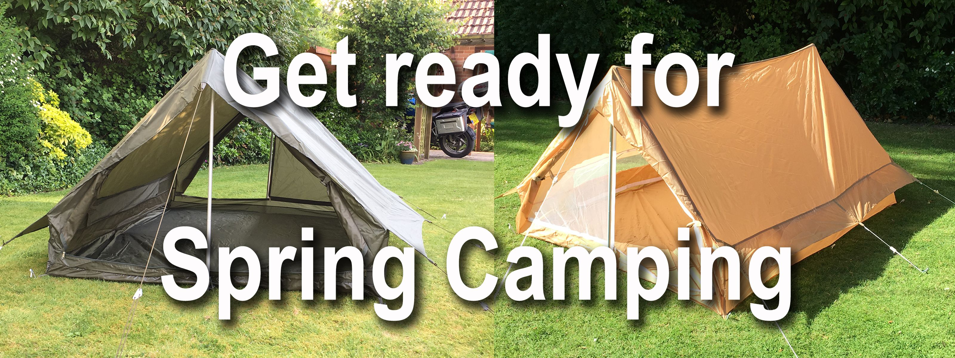 Click here to view our tents